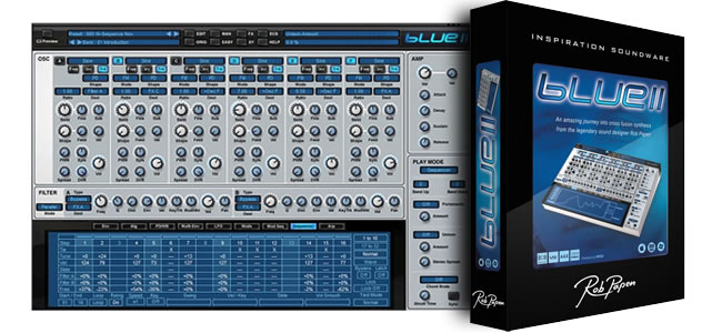 Review Blue II Virtual Synthesizer Plugin
