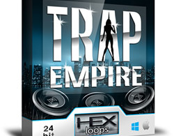 Trap Empire – Trap Samples and MIDI Files by Hex Loops