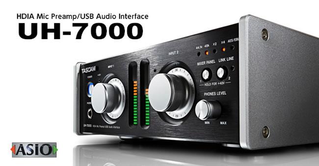 UH-7000 USB Audio Interface