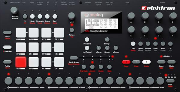 Analog Rytm Drum Machine by Elektron