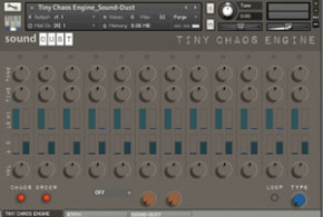 Free: Tiny Chaos Engine for Kontakt by Sound Dust