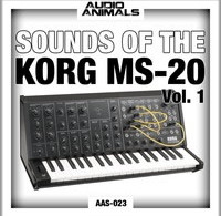 Free: Sounds Of The Korg MS-20 Vol 1 by Audio Animals