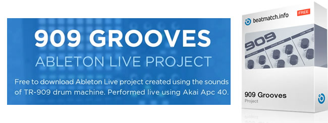 909 Grooves – Free Ableton Live Projects