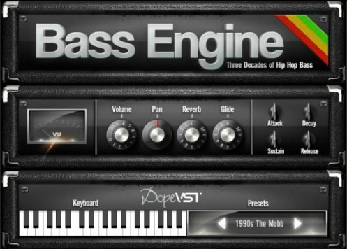 bass engine virtual bass synthesizer plugin by dope vst. Black Bedroom Furniture Sets. Home Design Ideas