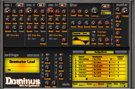 Dominus VST Synth Instrument