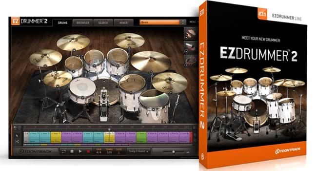 EZdrummer 2 Virtual Drums Instrument