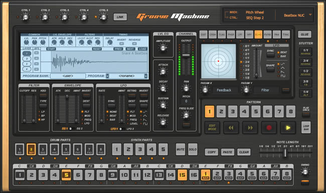 10 best drum vst plugins drum machine software producerspot. Black Bedroom Furniture Sets. Home Design Ideas