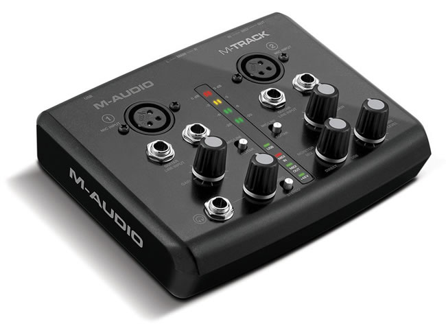 M-Track Portable USB Audio Interface