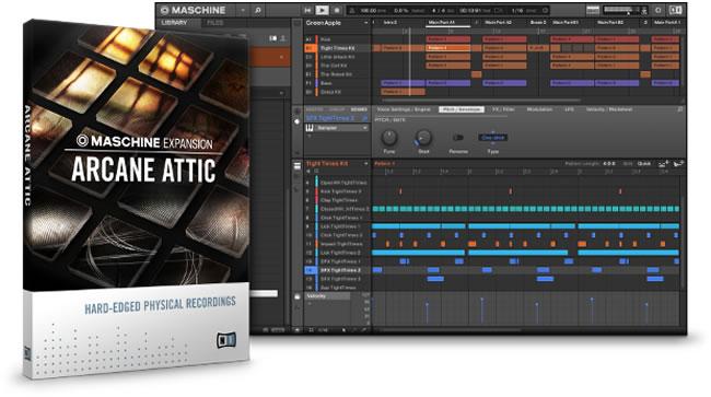 Arcane Attic Expansion for Maschine