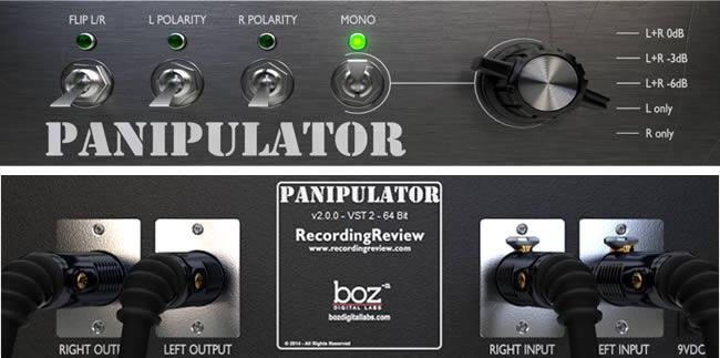 Free Panipulator Pan Control Plugin