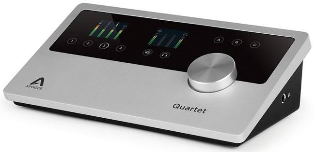 Quartet Audio Interface for iOS iPad and Mac