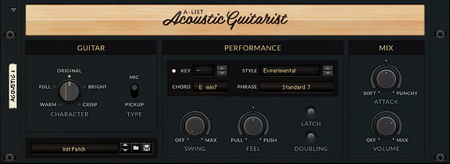 A-List Acoustic Guitarist for Reason by Propellerhead