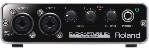 Roland Duo-Capture EX iOS, MAC Audio Interface