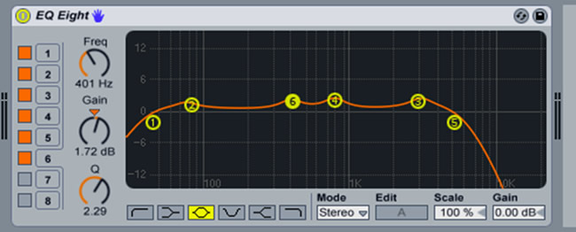 EQing and Mixing Guitars in Ableton
