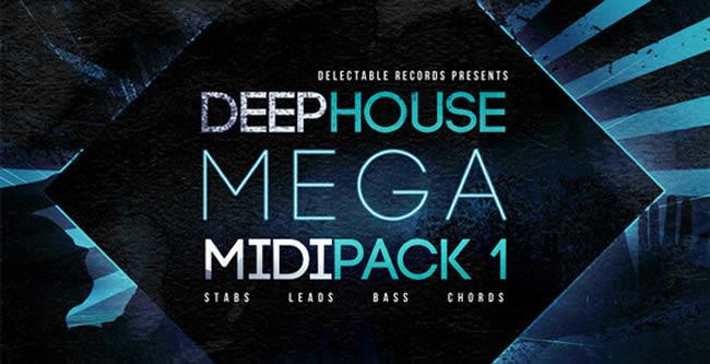 Deep House Mega MIDI Pack 1