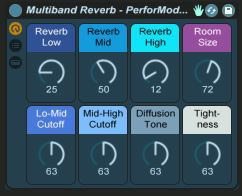 Free Download MultiBand Reverb for Live 9