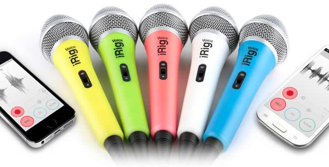 iRig Voice Microphones IK Multimedia