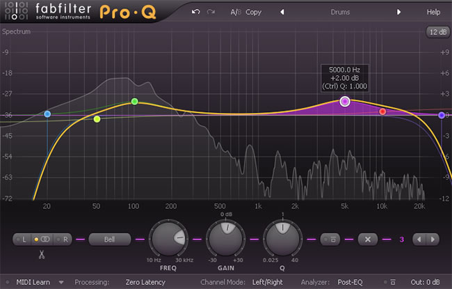Review: Pro-Q - Mixing and Mastering Plugin by FabFilter