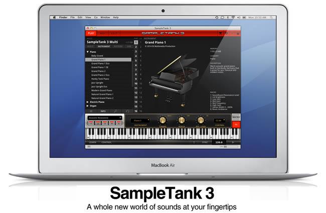 SampleTank 3 IK Multimedia