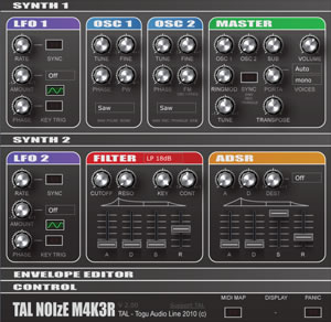 TAL-NoiseMaker Synth1