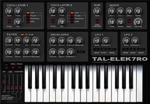 TAL-Elek7ro Free VST