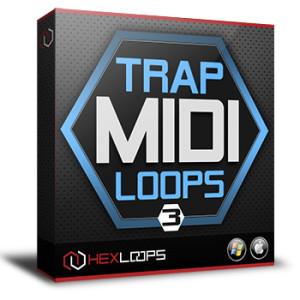 Trap MIDI Loops Vol 3 MIDI Files Pack