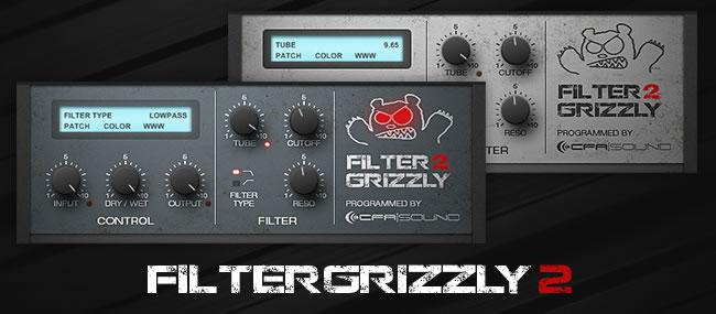 free filtergrizzly2 vst filter plugin by cfa sound. Black Bedroom Furniture Sets. Home Design Ideas