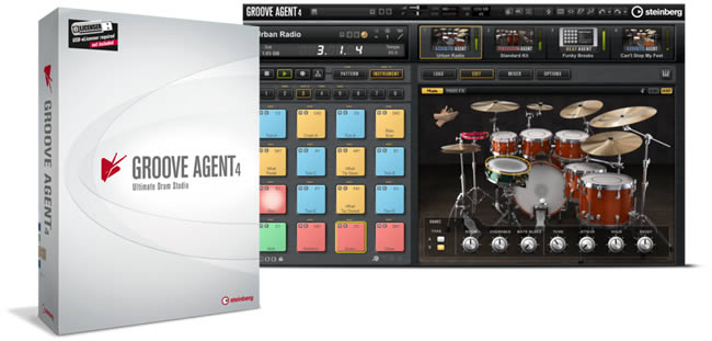 Groove Agent 4 - Drum Workstation by Steinberg