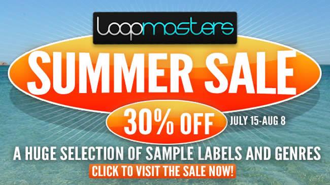 Loopmasters Summer Sale 2014