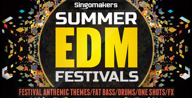 EDM Summer Festivals Samples and Loops