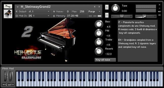 Steinway Grand 2 Kontak Free Piano