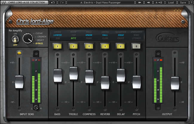review cla guitars virtual instrument plugin by waves producerspot. Black Bedroom Furniture Sets. Home Design Ideas