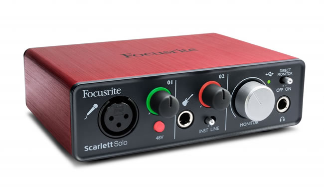 Scarlett Solo USB Audio Interface