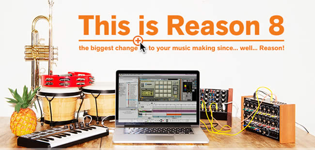 Reason 8 Music Software DAW