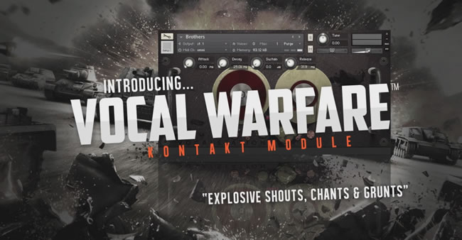 Vocal Warfare Kontakt Samples