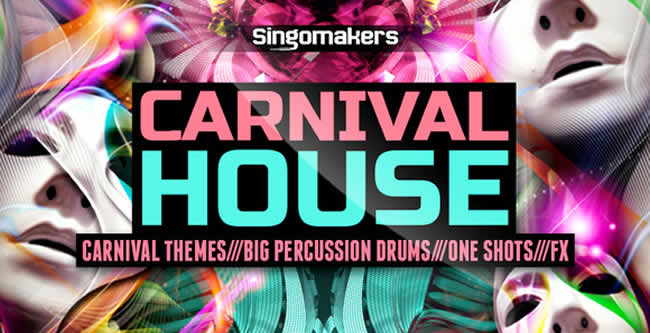 Carnival House Drum Samples and Loops