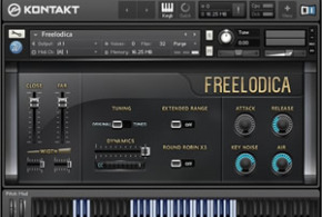 Freelodica Sample Library for Kontakt by Wavesfactory
