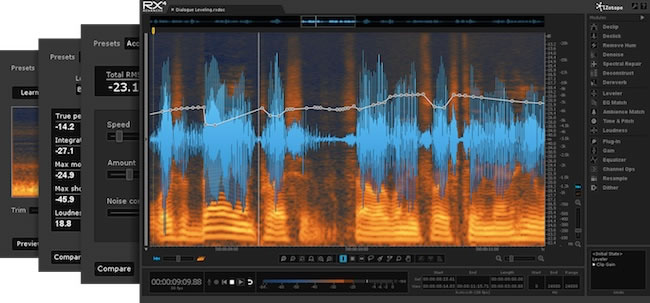 rx4 audio repair software by izotope. Black Bedroom Furniture Sets. Home Design Ideas