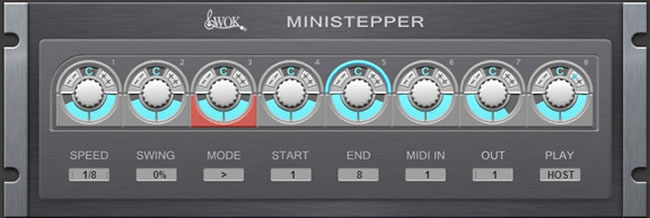 Free MIDI MiniStepper VST Plugin