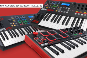New Mpk Keyboard/Pad Controllers by AKAI