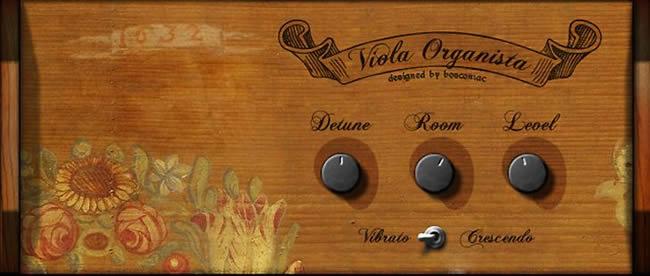 Viola Organista Free Reaktor Module