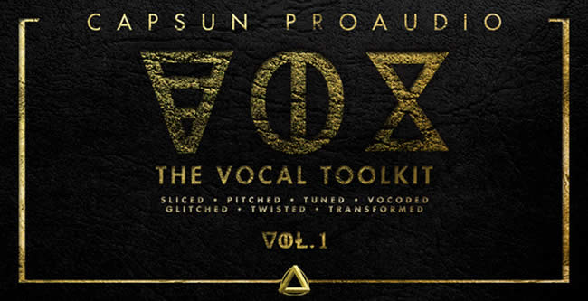 VOX Vocal Toolkit Vol 1 Capsun