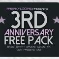 3rd Anniversary Free Pack by Freaky Loops