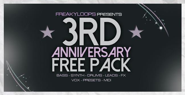 Freaky Loops Free Anniversary Pack