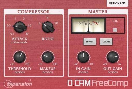 DCAM FreeComp VST