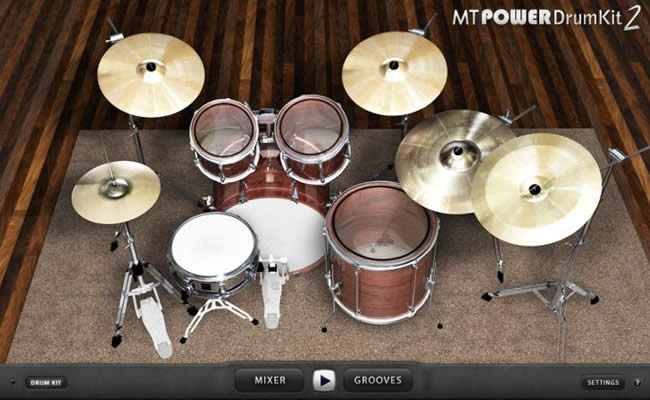 Free MT Power Drum Kit 2 VST Plugin