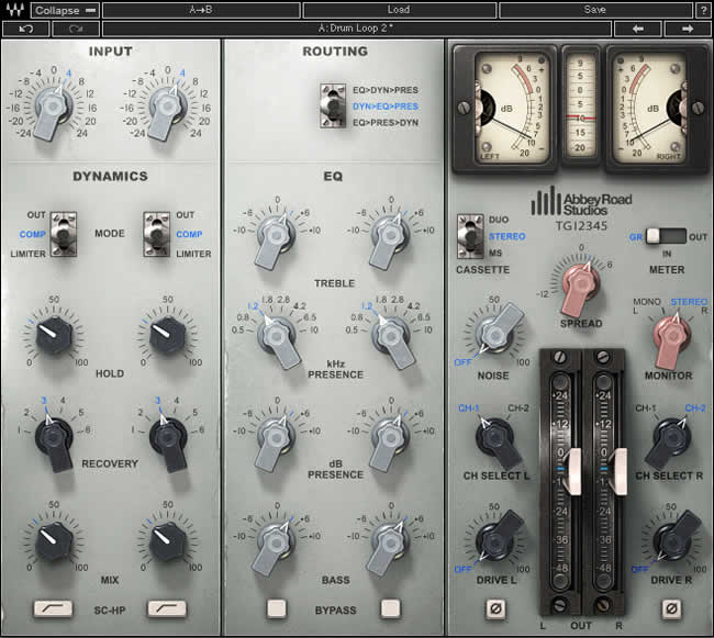 EMI TG12345 Channel Strip Plugin by Waves