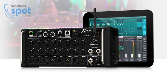x air xr18 digital mixer for ipad android tabs by behringer. Black Bedroom Furniture Sets. Home Design Ideas