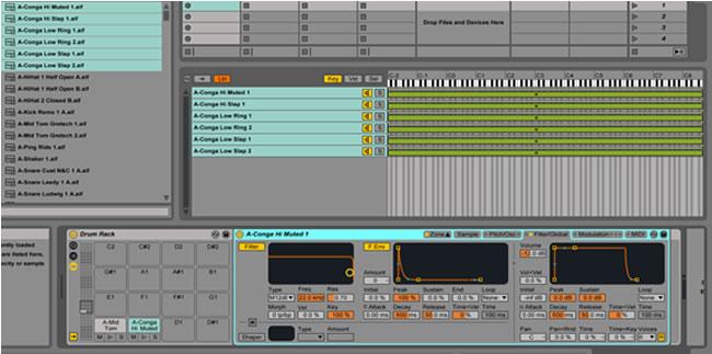 Ableton Drum Rack Tutorials