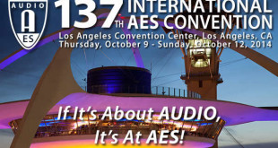 Audio Engineering Society Convention 2014